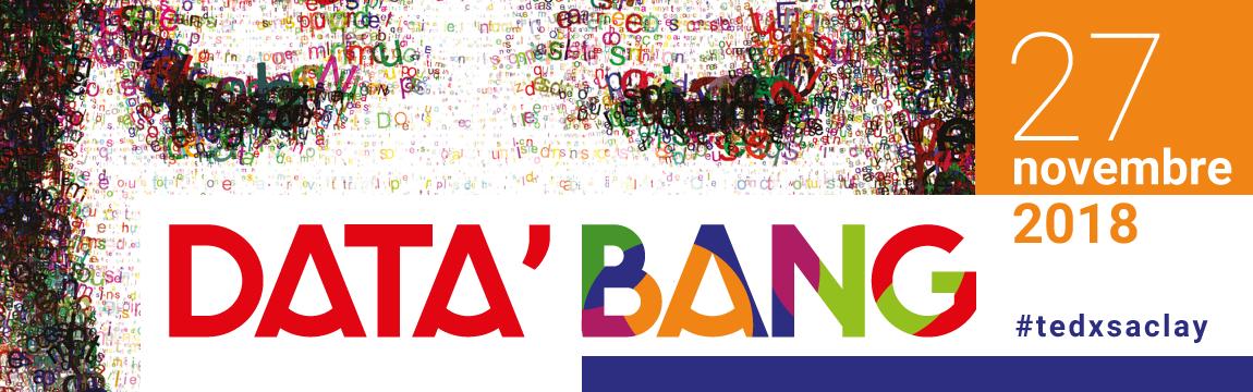 TEDx Saclay 2018, data'bang